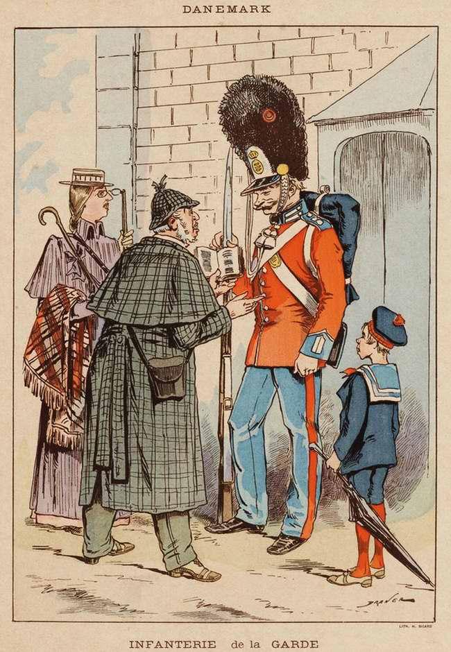 Дания - Гвардии пехотинец (1850)