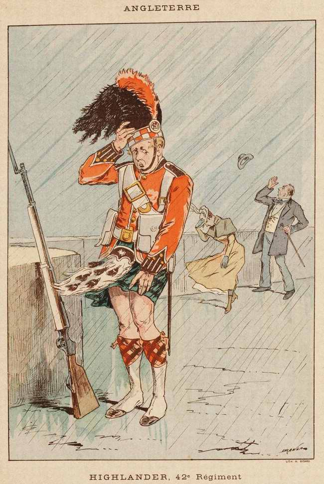 Англия - Пехотинец 42-го шотландского Хайлендерского полка (1850)