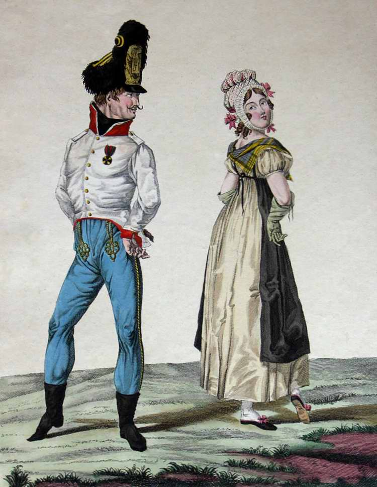 Венгры в Париже - 1815 (Франция)