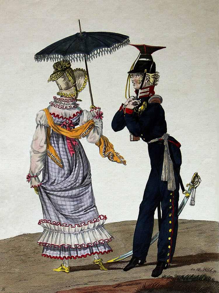 Приветливый пруссак (немец) - 1815 (Франция)