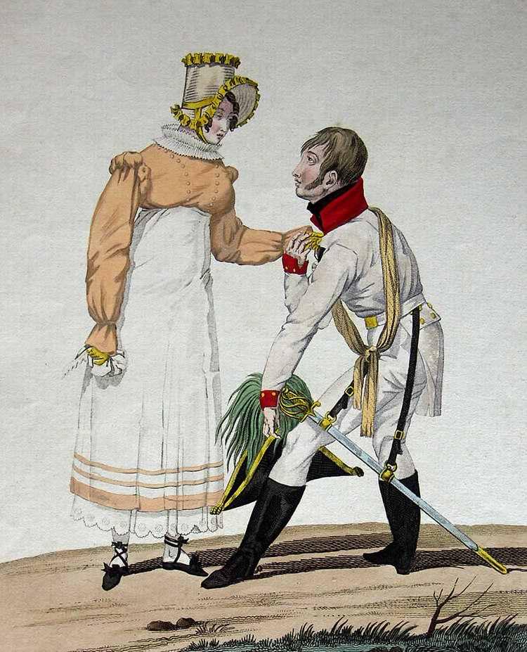Сентиментальный австриец - 1815 (Франция)