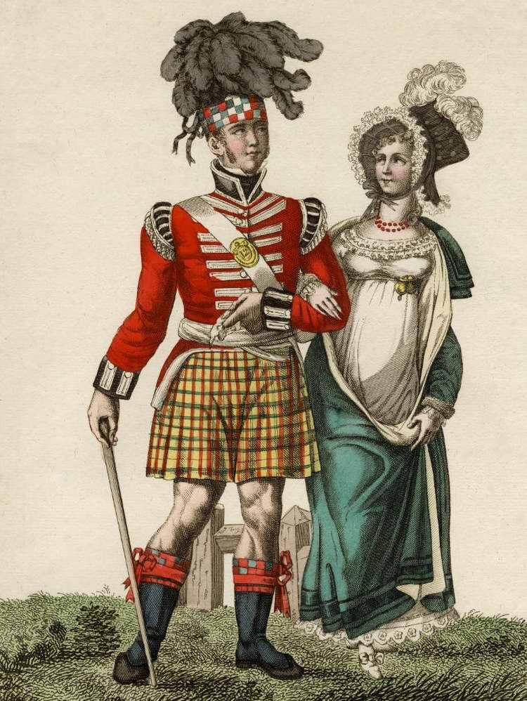 Галантный шотландец в Париже 1815 (Франция)
