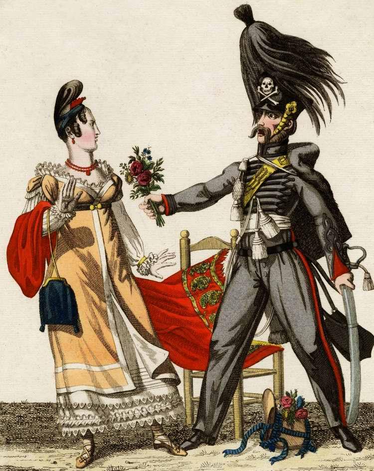 Галантный брауншвейгец (немец) 1815 (Франция)