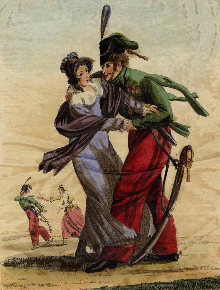 Принудительный поцелуй - 1815 (Франция)