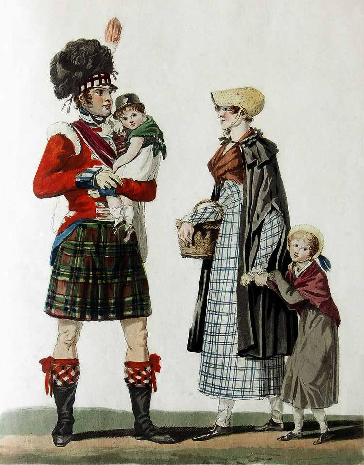 Шотландская семья - 1815 (Франция)