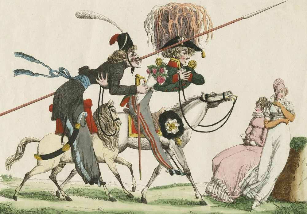 Русские в Париже - 1815 (Франция)