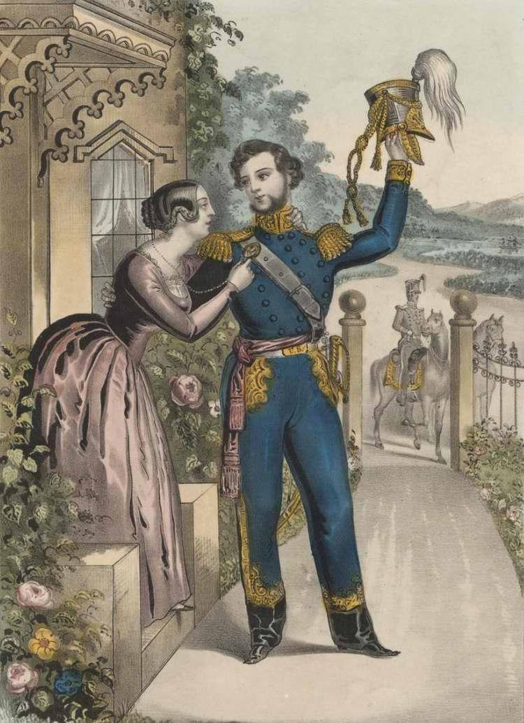 Прощание солдата - 1847 (США)