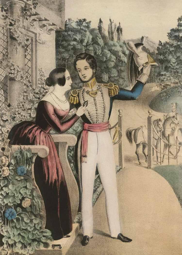 Прощание солдата 3 - 1847 (США)
