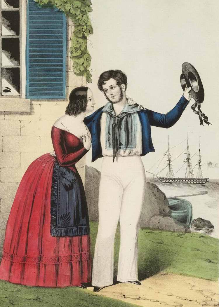 Прощание военного моряка - 1847 (США)