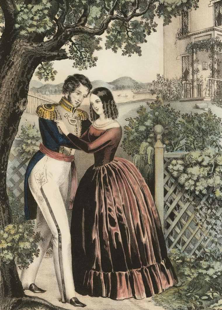 Возвращение солдата - 1847 (США)