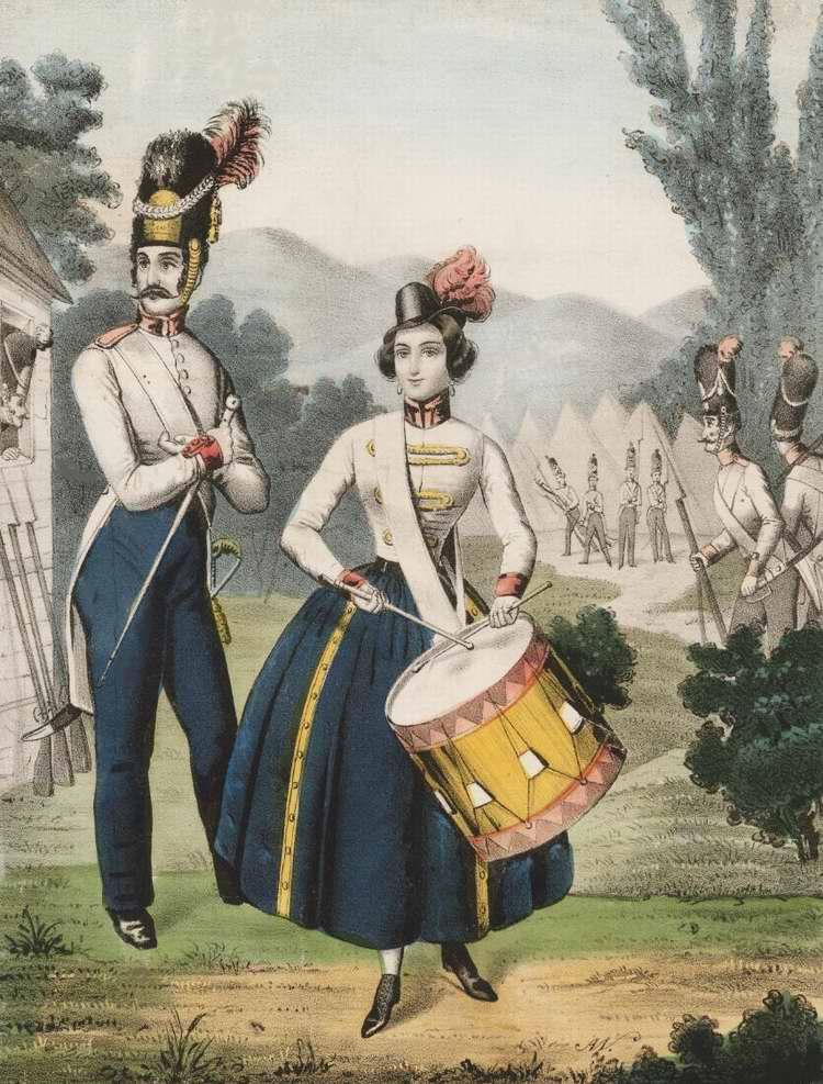 Дочь полка - 1849 (Великобритания)