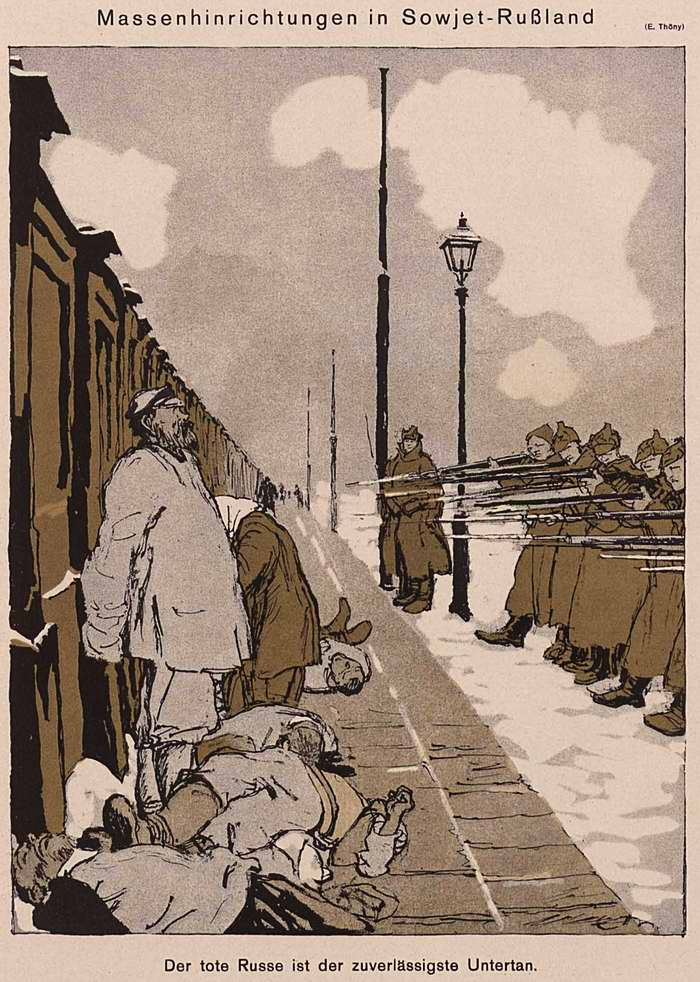 Массовые казни в Советской России (Simplicissimus)