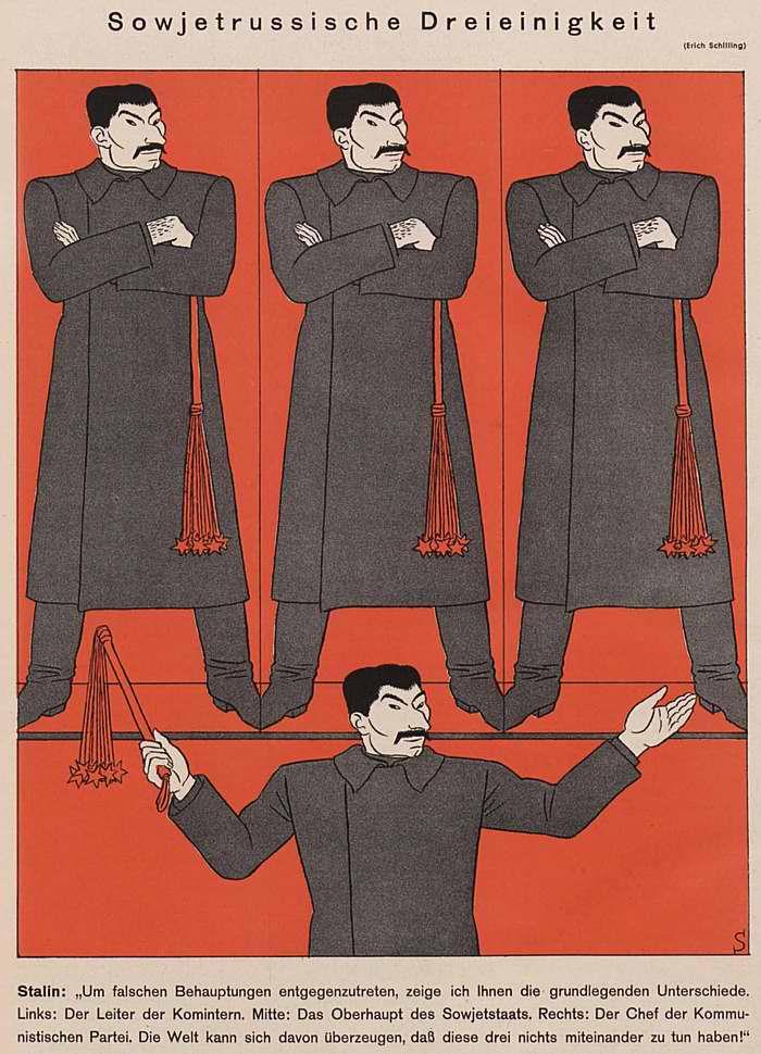 Советская святая троица (Simplicissimus)