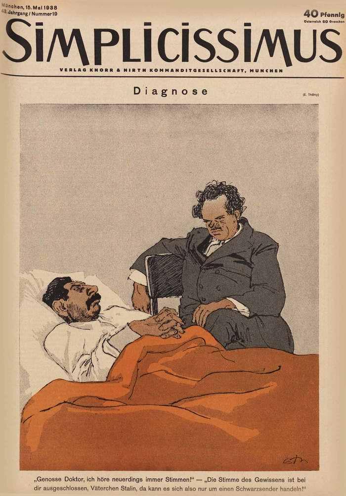Медицинский диагноз для Сталина (Simplicissimus)
