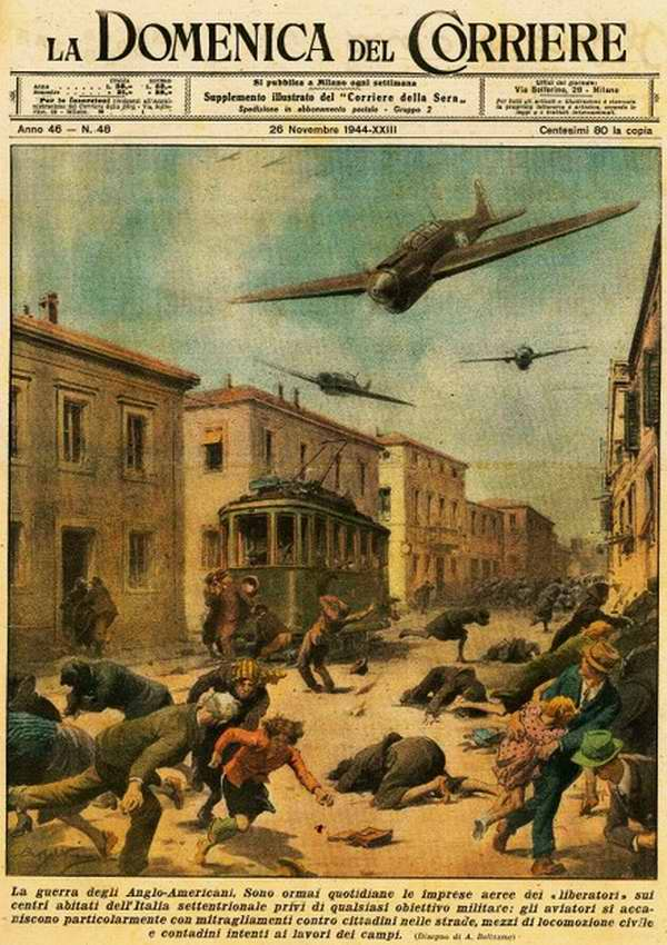 Англо-американцские методы ведения войны в Италии - Walter Molino