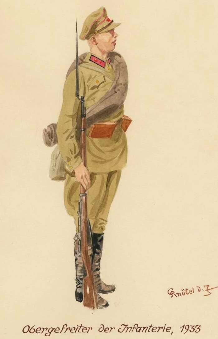 Младший сержант пехоты - 1933 г. (Herbert Knotel)