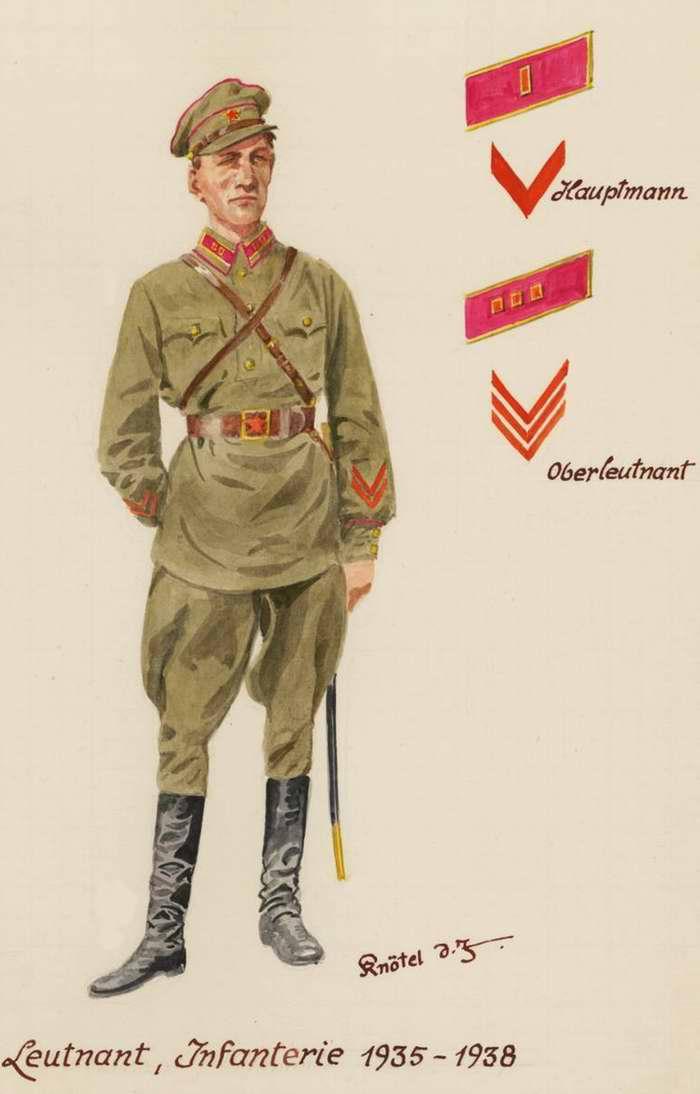 Пехотный лейтенант - 1935 - 38 г.г. (Herbert Knotel)
