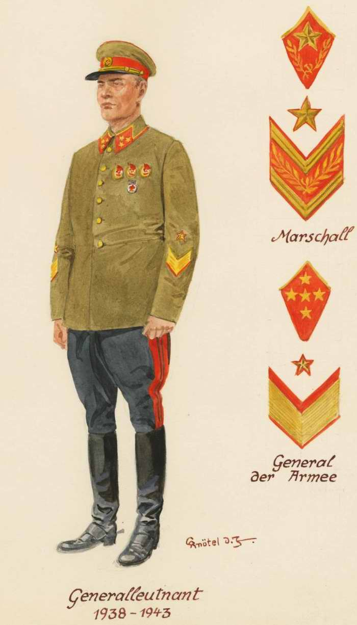 Генерал-лейтенант - 1938 - 43 г.г. (Herbert Knotel)