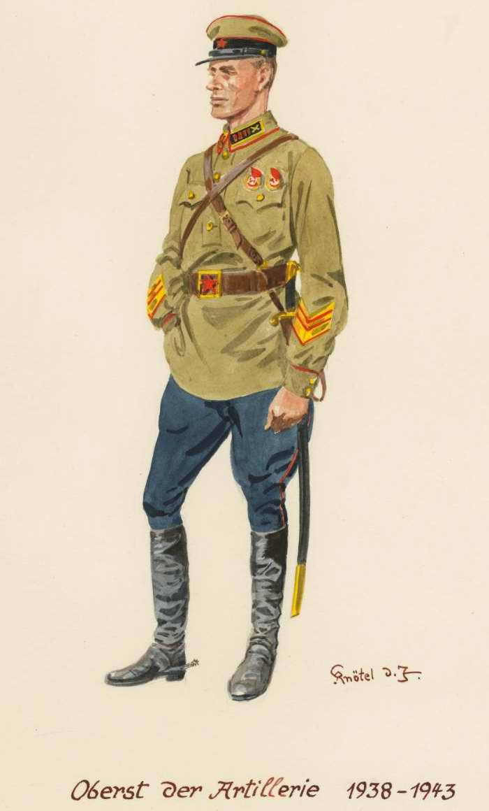 Полковник артиллерий - 1938 - 43 г.г. (Herbert Knotel)