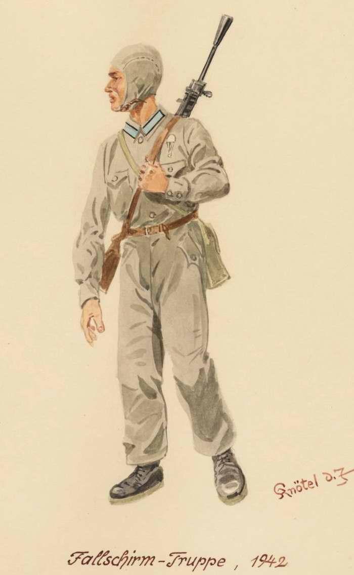 Парашютист - 1942 г. (Herbert Knotel)