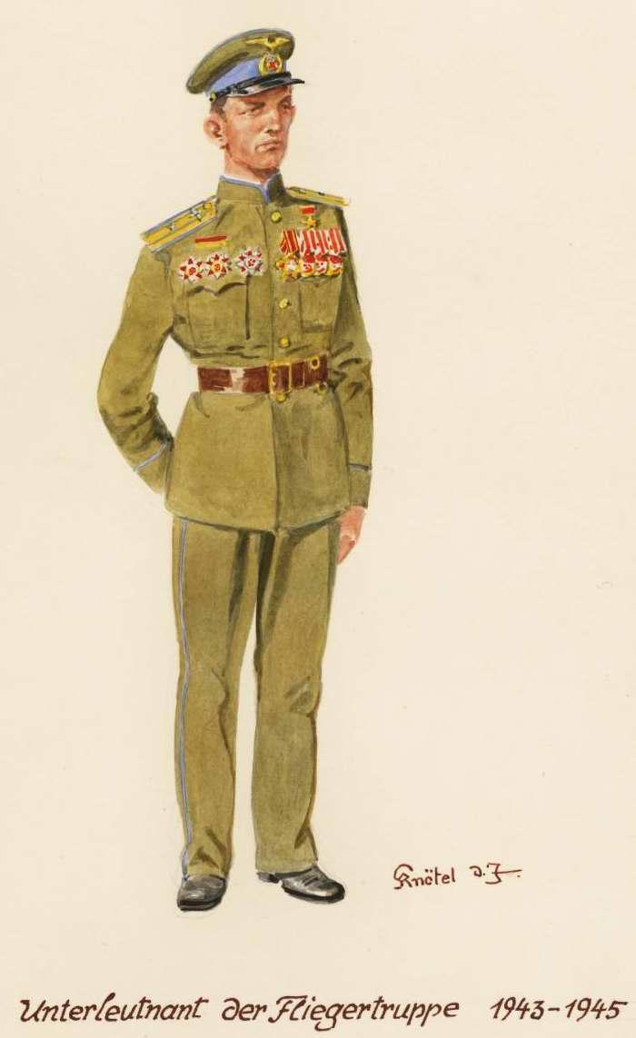 Младший лейтенант ВВС - 1943 - 45 г.г. (Herbert Knotel)