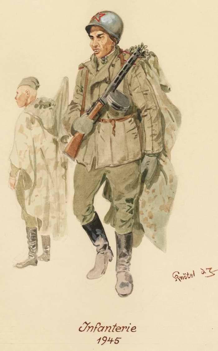 Пехотинцы - 1945 г. (Herbert Knotel)