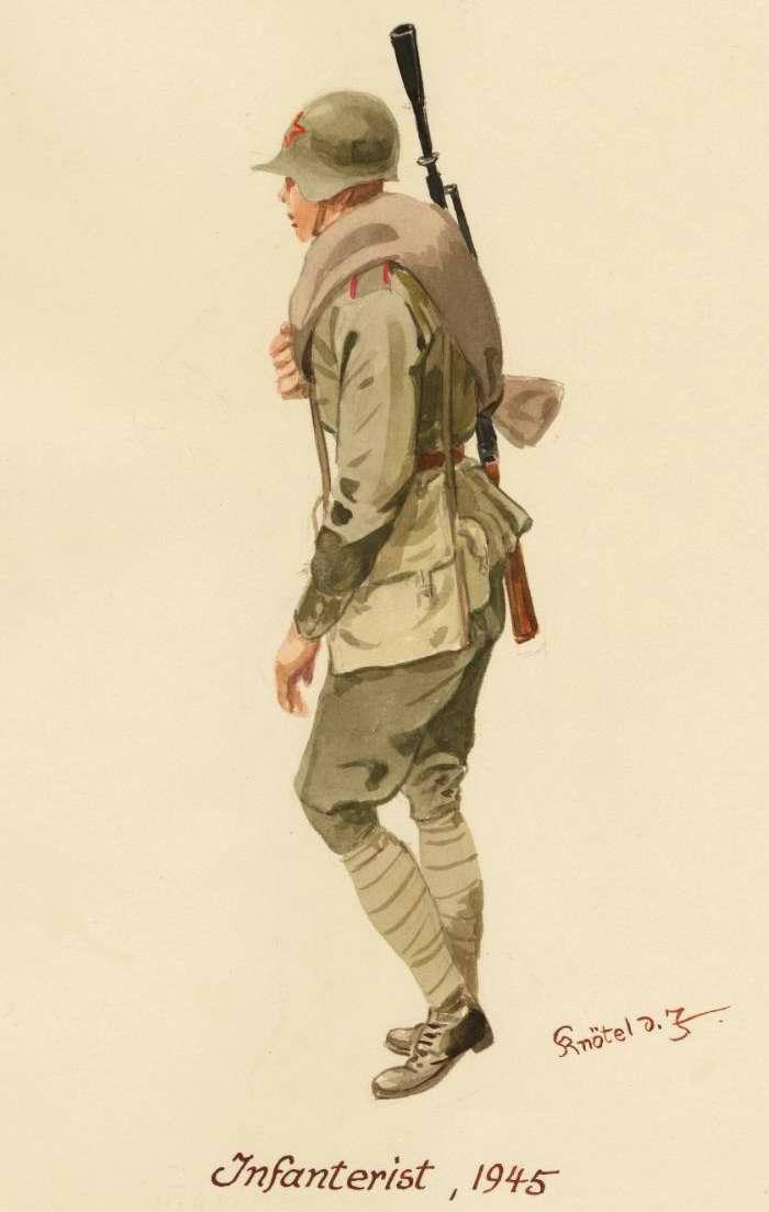 Пехотинец - 1945 г. (Herbert Knotel)
