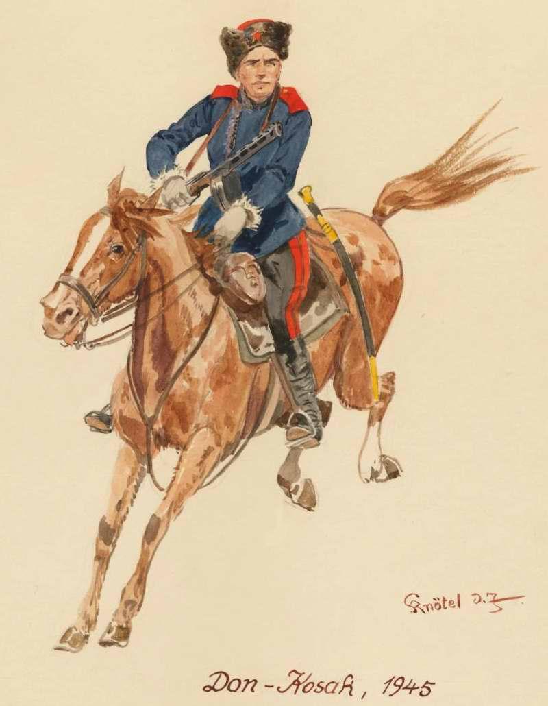 Донской казак - 1945 г. (Herbert Knotel)