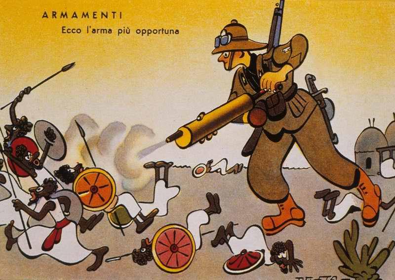 Вот это оружие (боевые отравляющие вещества) для данного случая является наиболее подходящим (Enrico De Seta)