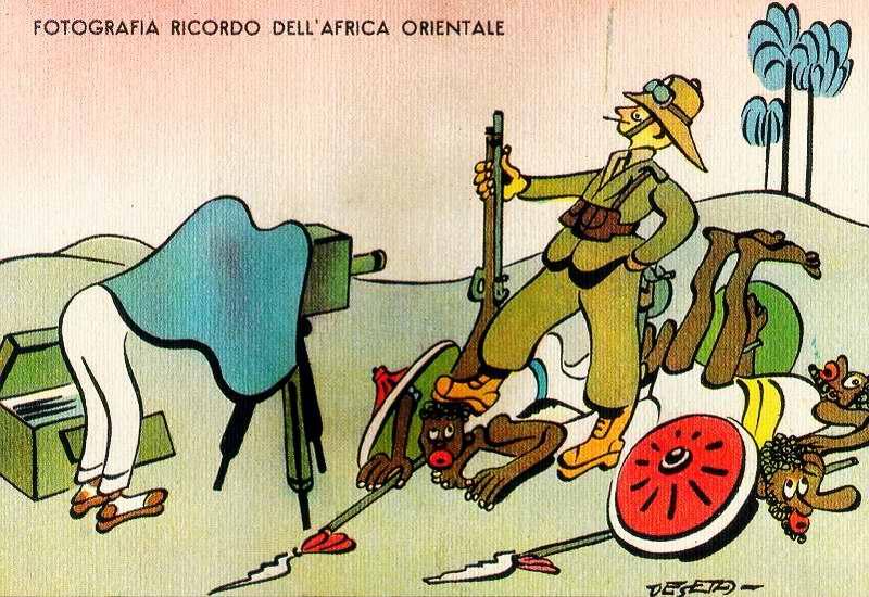 Фотография на память о пребывании в Восточной Африке (Enrico De Seta)