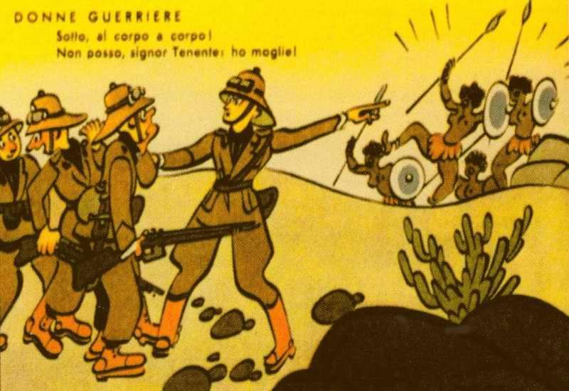 Встреча с воюющими женщинами (Enrico De Seta)