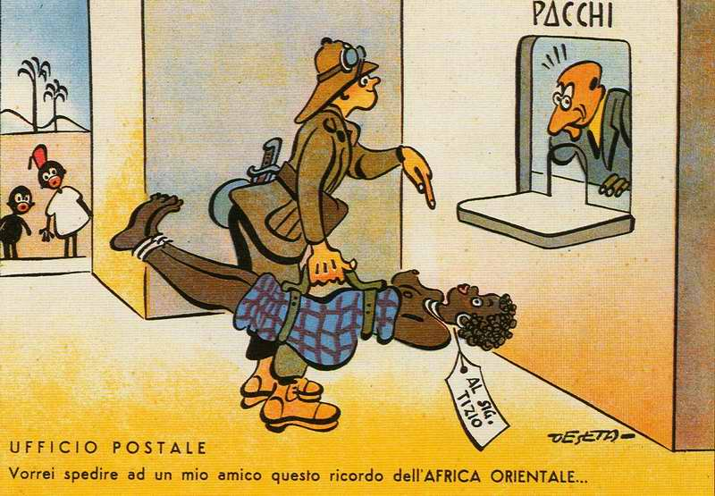 Почтовое отделение - Я бы хотел отправить эту посылку своему другу (Enrico De Seta)
