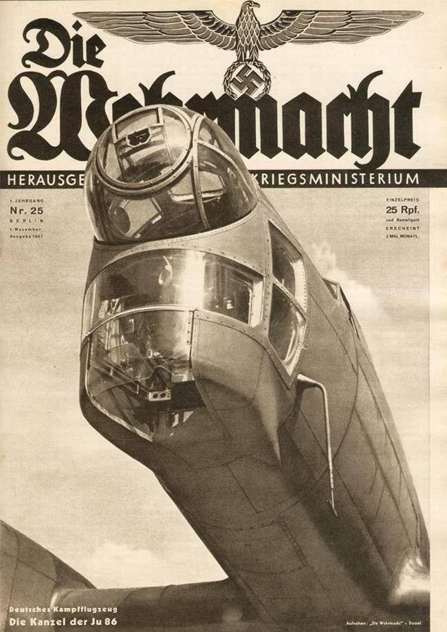 Немецкий бомбардировщик Ju-86