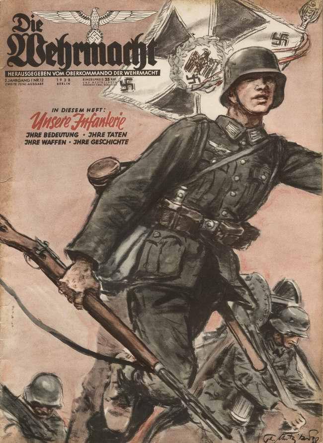 Немецкая пехота: ее значение, ее дела, ее оружие и ее история