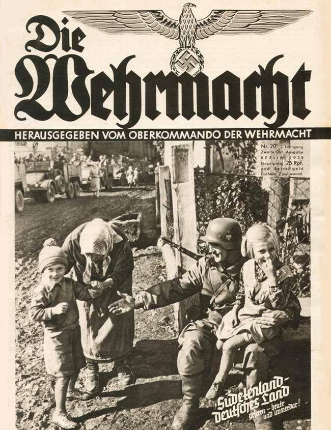 Немецкие войска в Судетской области Чехословакии
