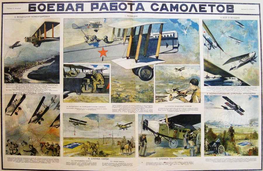 Боевая работа самолетов (1930)