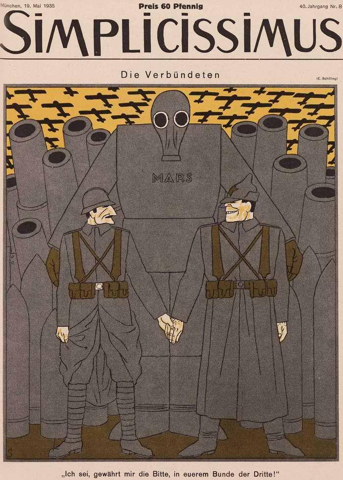 Союзники - Франко-советский пакт о взаимопомощи 1935 года (Simplicissimus)