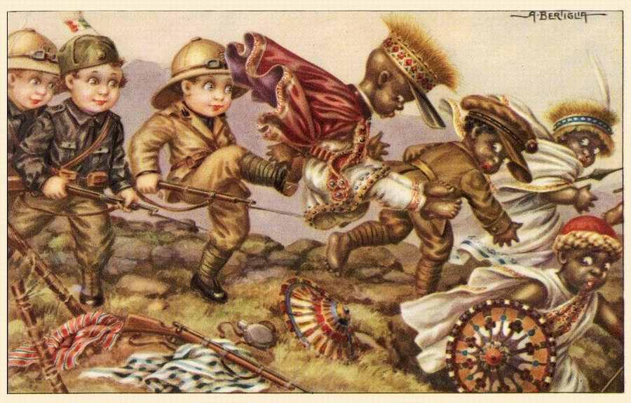 Дети колонизаторы - Bambini coloniali 01 - Aurelio Bertiglia 1936