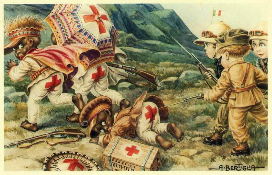 Дети колонизаторы - Bambini coloniali 02 - Aurelio Bertiglia 1936