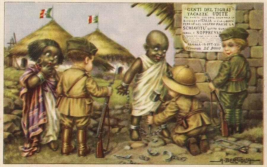 Дети колонизаторы - Bambini coloniali 04 - Aurelio Bertiglia 1936