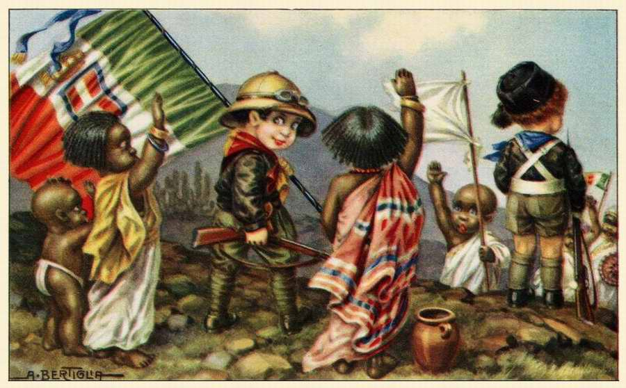 Дети колонизаторы - Bambini coloniali 06 - Aurelio Bertiglia 1936