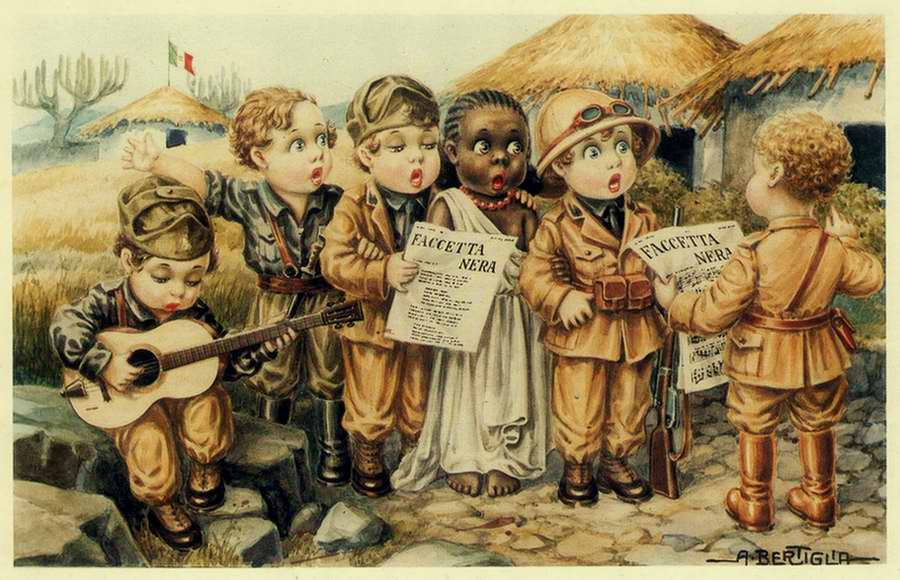 Дети колонизаторы - Bambini coloniali 08 - Aurelio Bertiglia 1936