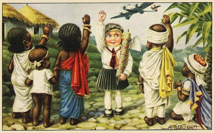 Дети колонизаторы - Bambini coloniali 09 - Aurelio Bertiglia 1936