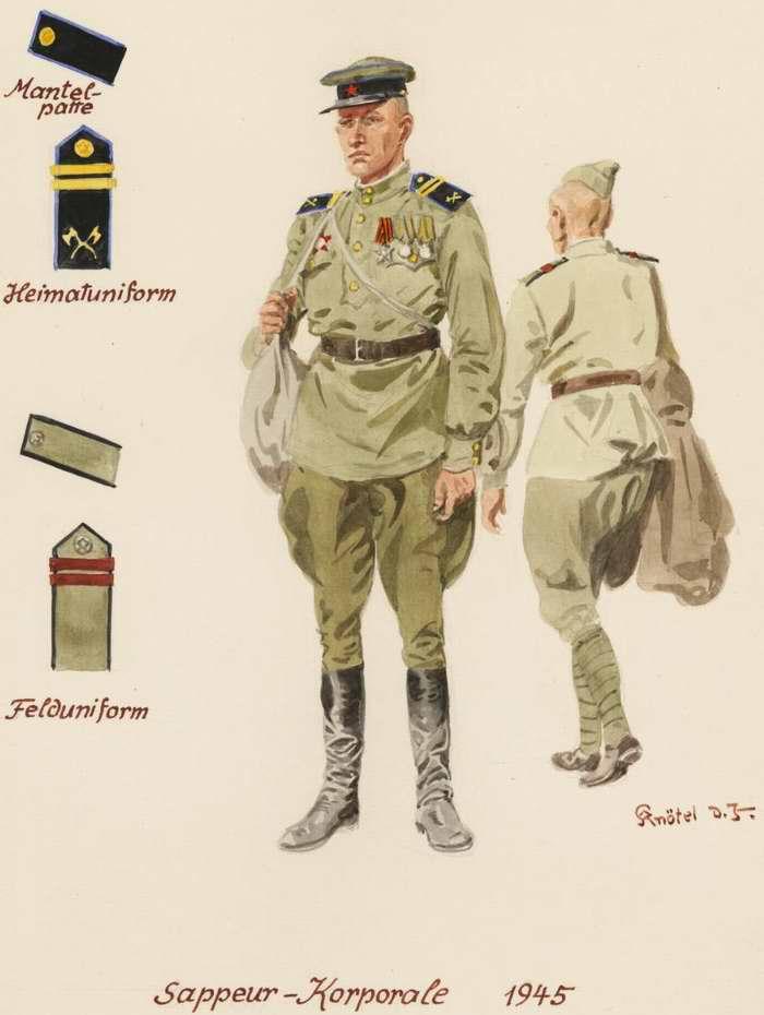Младший сержант, сапер - 1945 г. (Herbert Knotel)