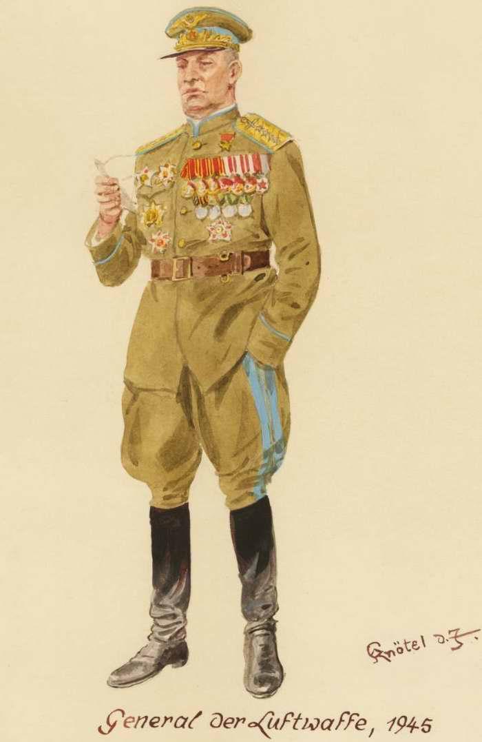 Генерал-полковник ВВС - 1945 г. (Herbert Knotel)