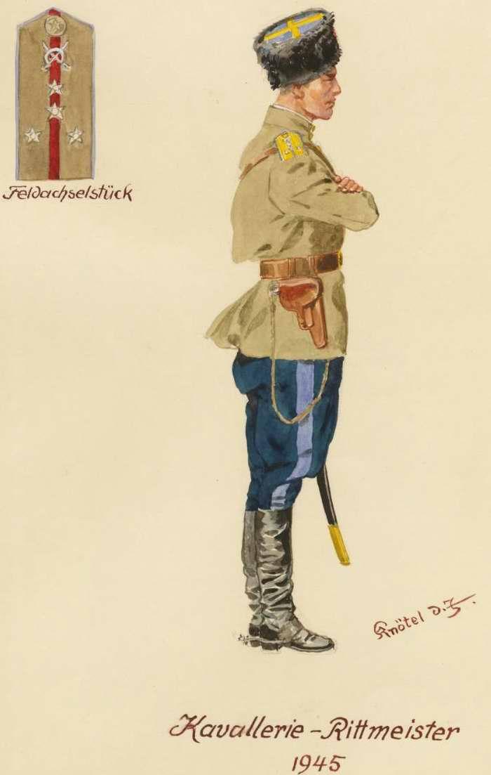 Капитан кавалерии - 1945 г. (Herbert Knotel)