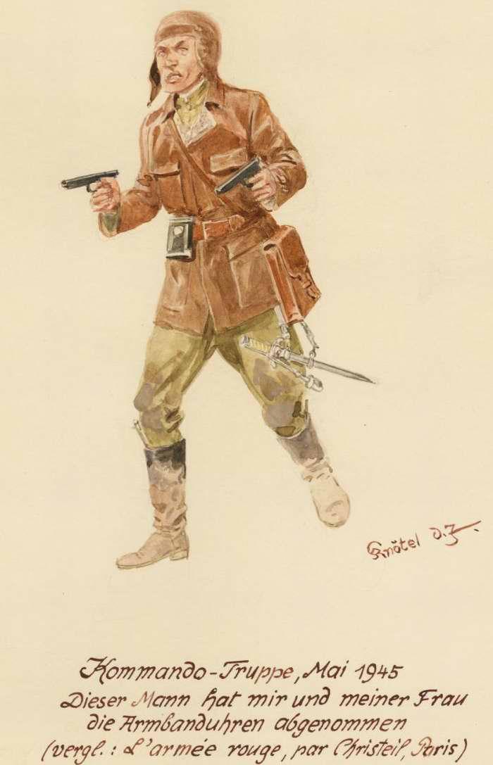 Командир группы специального назначения - 1945 г (Herbert Knotel)