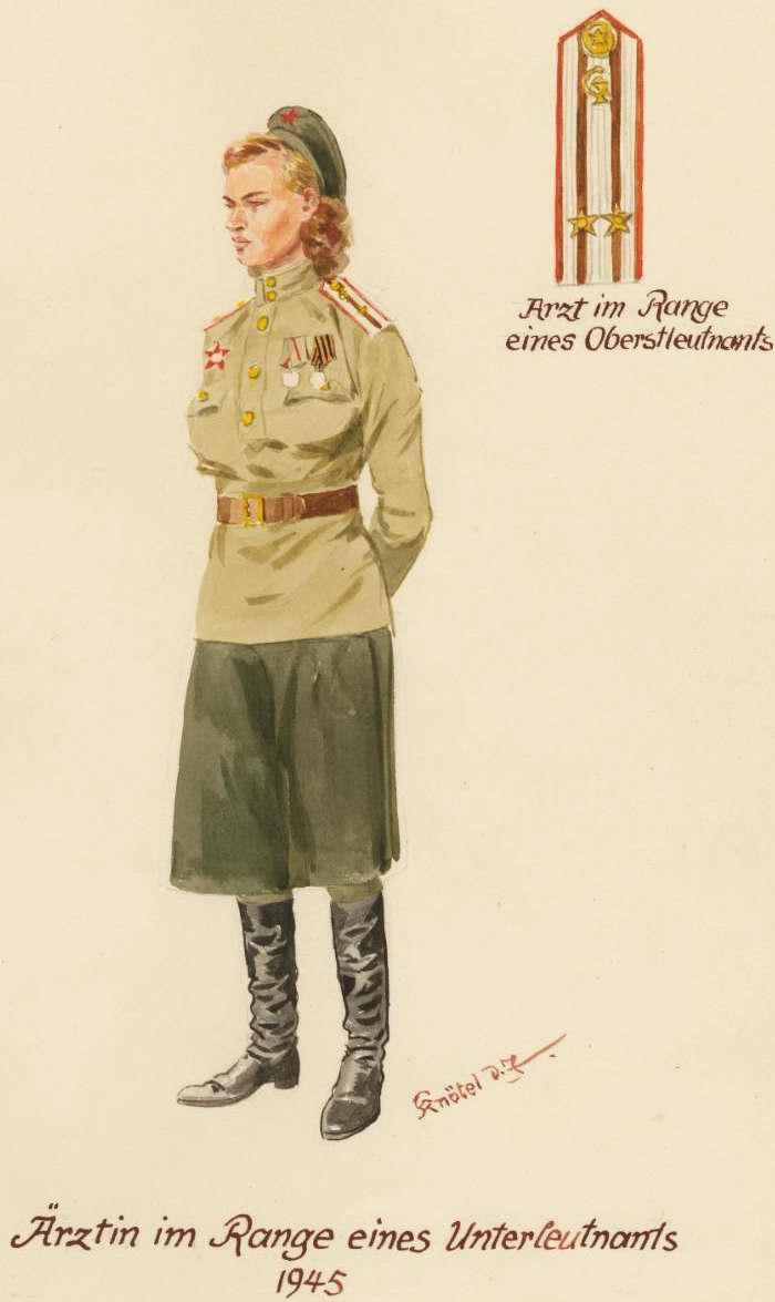 Младший лейтенант медицинской службы - 1945 г. (Herbert Knotel)