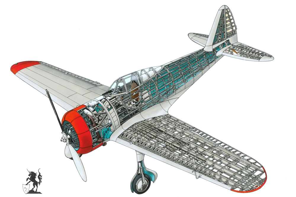 Nakajima Ki.27 Nate или Type 97 - истребитель-моноплан, 1937 год (Япония)