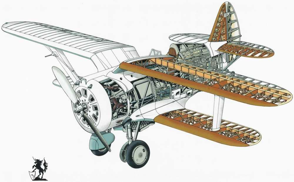 Поликарпов И-153 Чайка - истребитель-биплан, 1939 год (СССР)